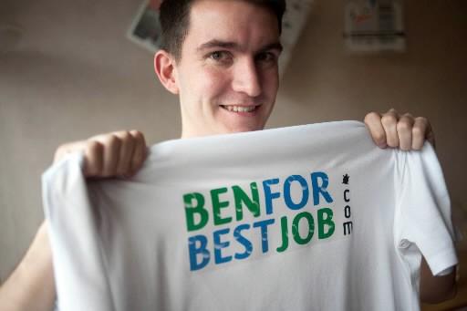 L'étudiant français French Benoit Henry, de Lyon, est... (Photo: AFP)
