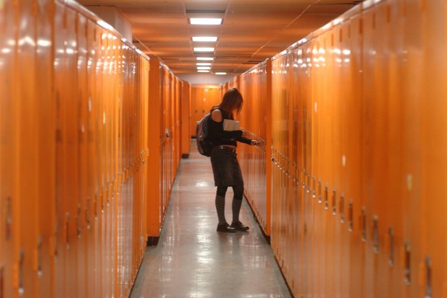 Ioana la surdiplômée (Archives La Presse)