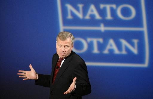 Qui remplacera Jaap de Hoop Scheffer ?... (Photo: AFP)