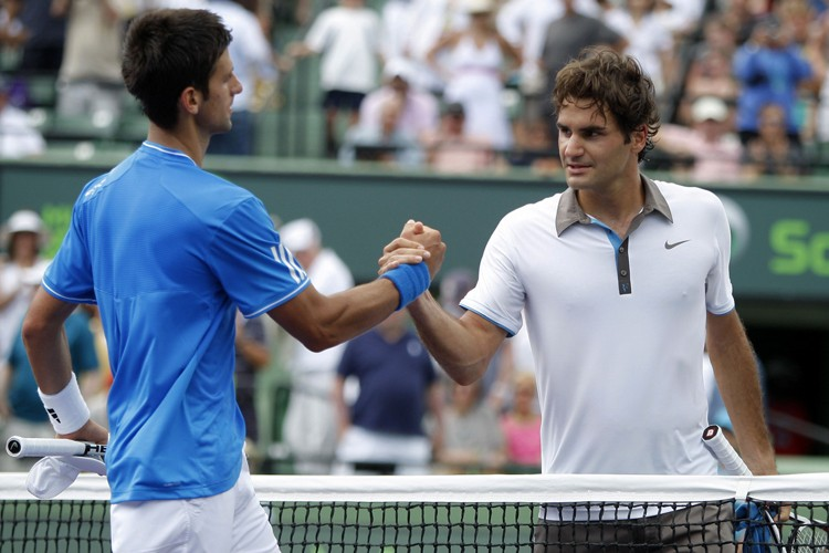 Novak Djokovic a battu Roger Federer 3-6, 6-2,... (Photo: Reuters)