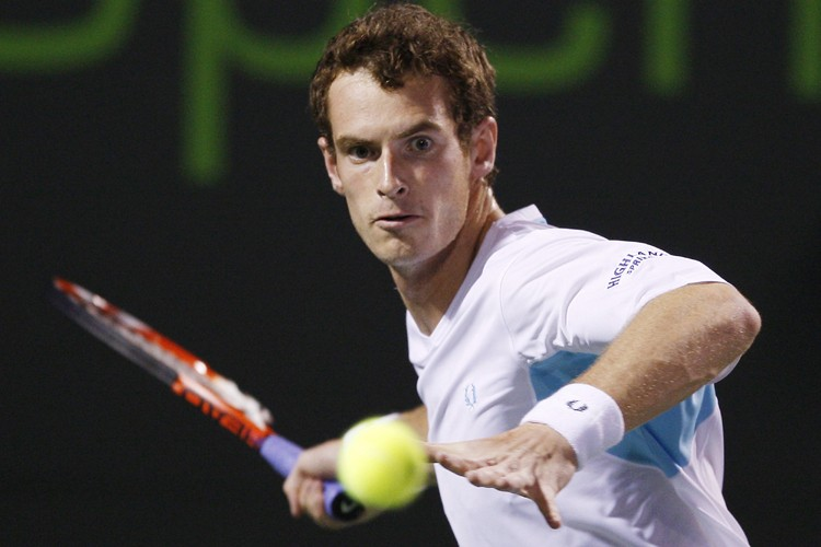 Andy Murray a battu Juan Martin Del Potro... (Photo: Reuters)