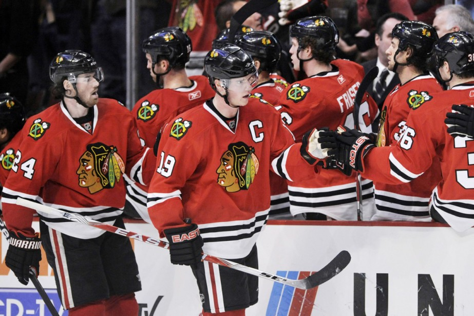 les Blackhawks ont confirmé leur première participation aux... (Photo: AP)