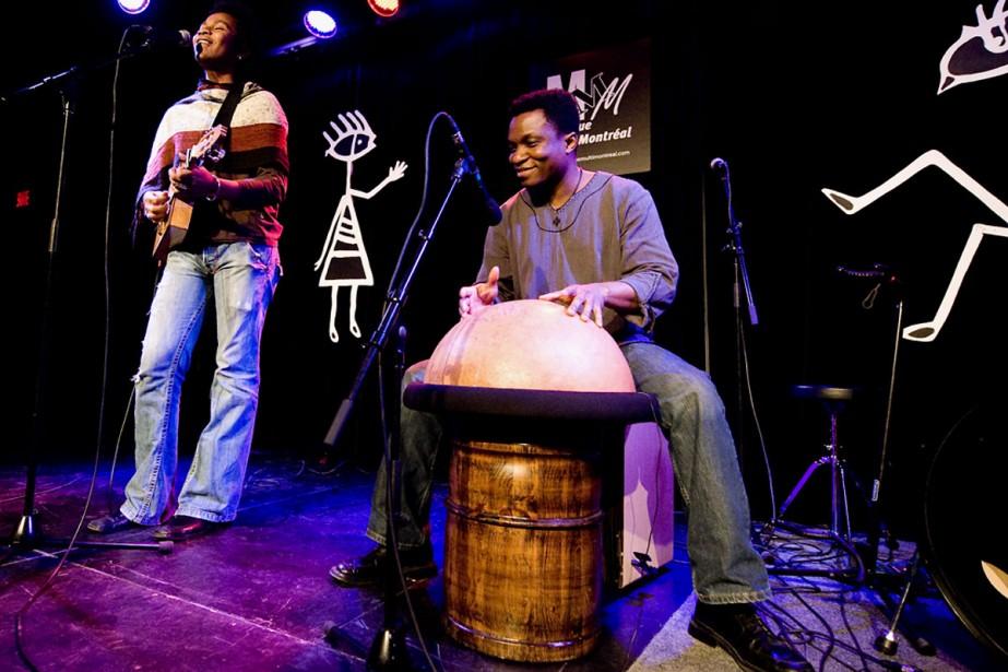 Mikea et Moïse Yawo Matey, de Madagascar, seront... (Photo fournie par Musique Multi-Montréal.)