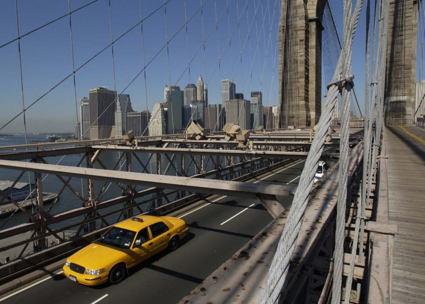 Le pont de Brooklyn, à New-York... (Photo: Martin Chamberland, La Presse)