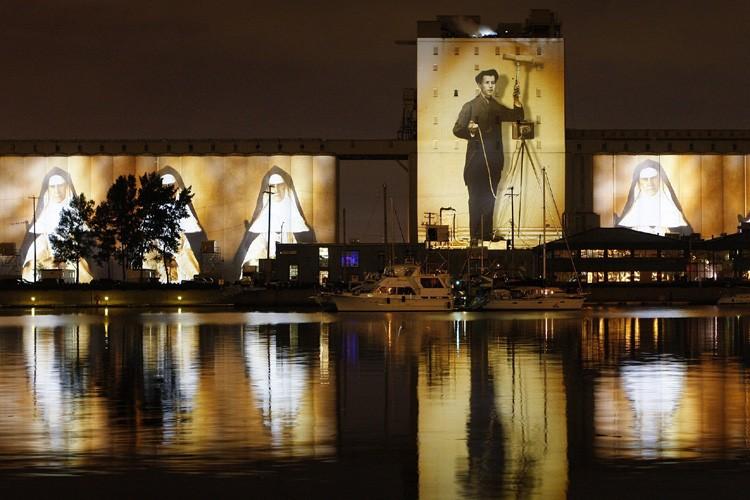 La nouvelle moutureMoulin à images de Robert Lepage... (Photo: Reuters)