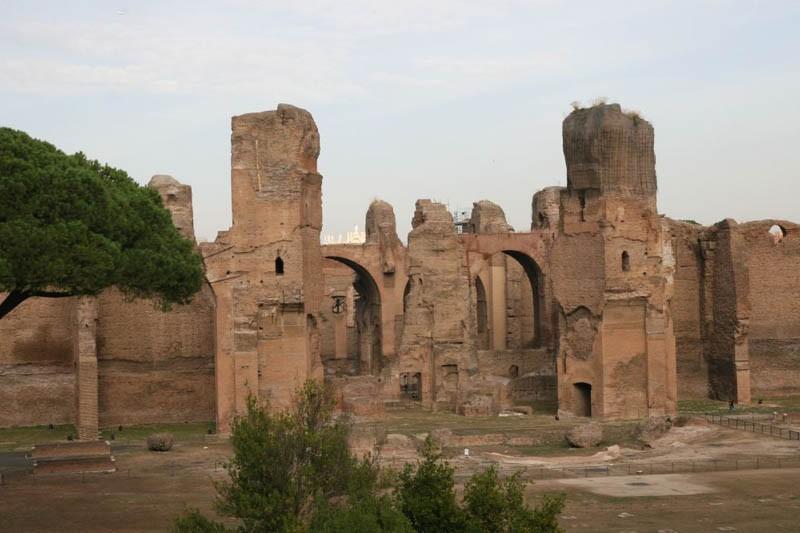 Les Thermes de Caracalla...