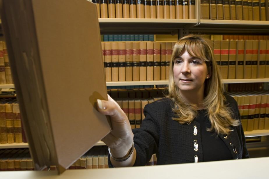 Danielle Ferron, avocate chez Borden Ladner Gervais.... (PHOTO DAVID BOILY, LA PRESSE)