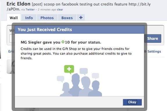 Le site de réseautage social Facebook teste depuis peu une nouvelle forme de...