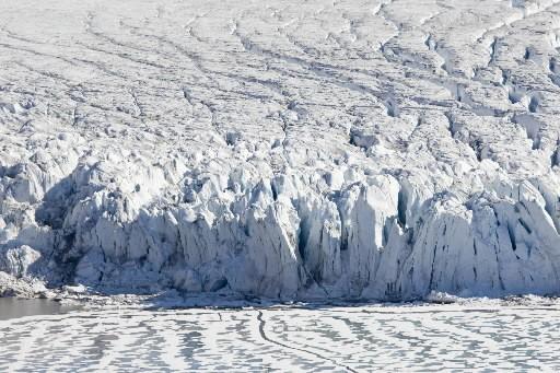 L'épaisseur moyenne des glaces arctiques est la plus... (Photo: AP)
