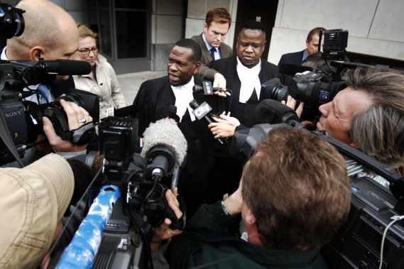 Johnson Aziga, absent sur la photo, a été... (Photo: PC)