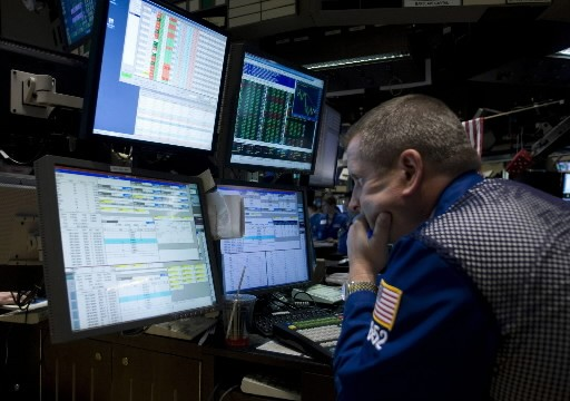 La Bourse de New York a terminé en baisse mardi,... (Photo: Associated Press)