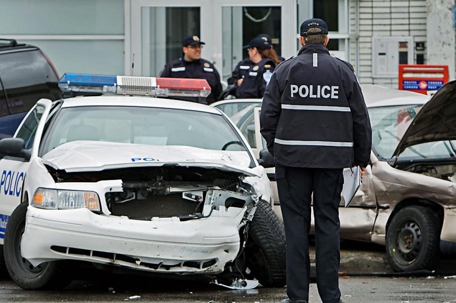 Au coin des rues Sherbrooke et Jetté, à... (Photo: Ivanoh Demers, La Presse)