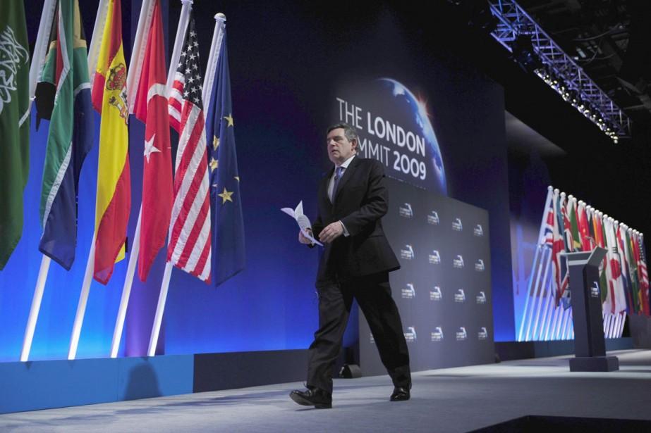 Les chefs des 20 pays du G20 (dont... (Photo Reuters)