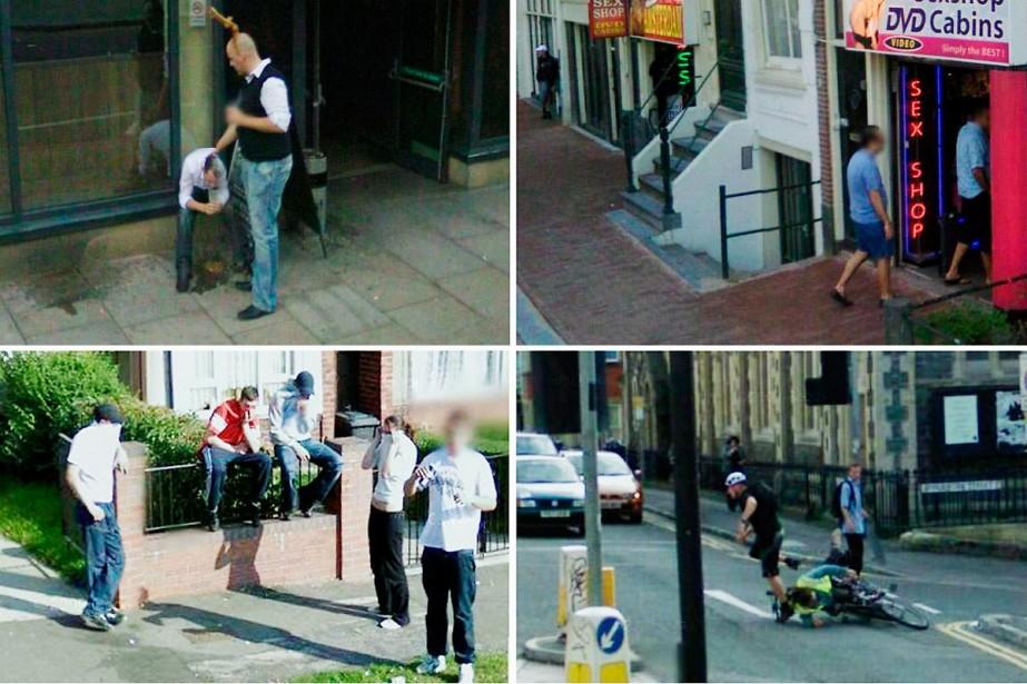 Des images qu'on retrouve sur Google Street View...