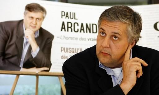 Paul Arcand, qui anime l'émission Puisqu'il faut se... (Photo: Archives La Presse)