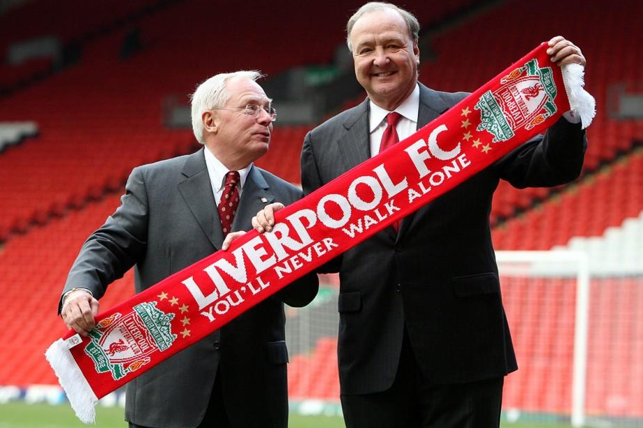 Les copropriétaires du club de soccer de Liverpool,... (Photo:  AP)