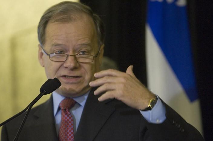 Le ministre des québécois des Finances, Raymond Bachand... (Photo: David Boily, La Presse)
