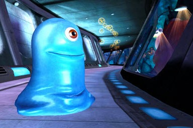 Extrait du jeu Monster vs Aliens...