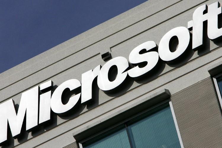Le groupe informatique américain Microsoft, qui avait annoncé en... (Photo: AFP)