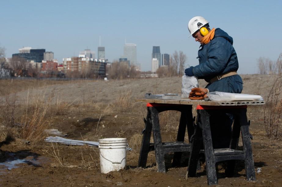 Le mode de construction en partenariat... (Photo: Martin Chamberland, La Presse)
