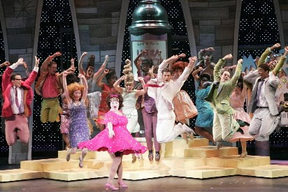 La comédie musicale Hairspray...