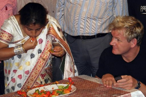Anandita  Dutta  Tamuly n'a aucune difficulté... (Photo: AP)