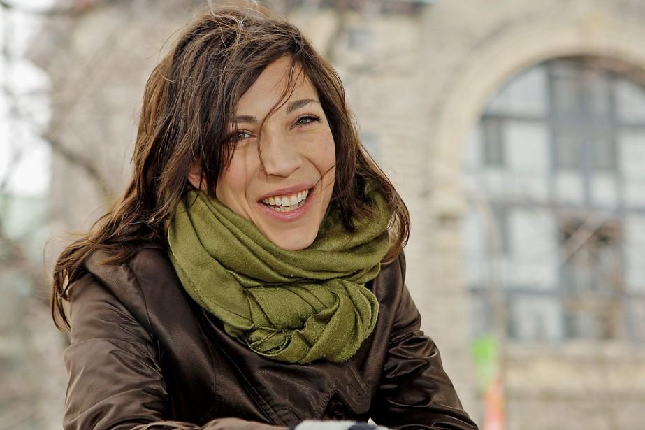 Evelyne de la Chenelière... (Photo: Robert Mailloux, La Presse)