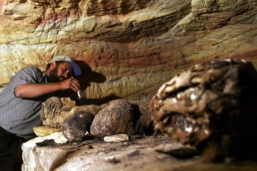 Des dizaines de momies ont été découvertes au... (Photo: AP)