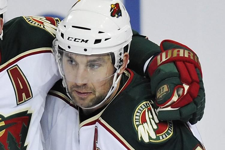 L'attaquant du Wild du Minnesota, Andrew Brunette.... (Photo: BC)