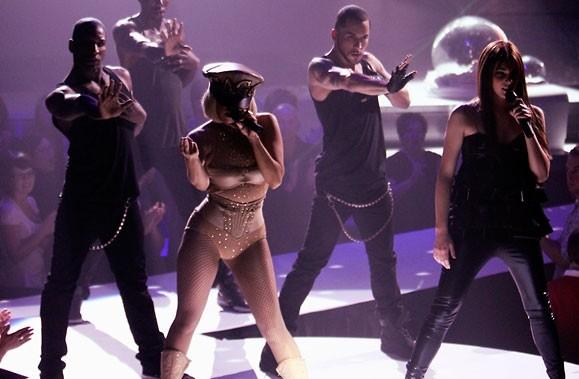 Le passage de Lady GaGa à Star Académie.... (Photo: La Presse)