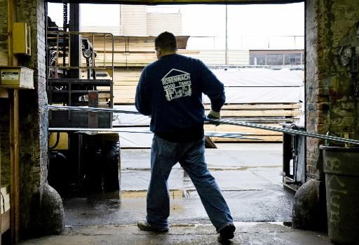 La production industrielle des États-Unis affichait ainsi une... (Photo: Bloomberg)