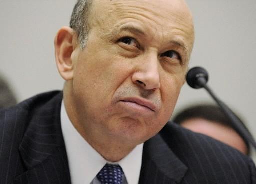 Lloyd Blankfein, PDG de Goldman Sachs... (Photo: Reuters)