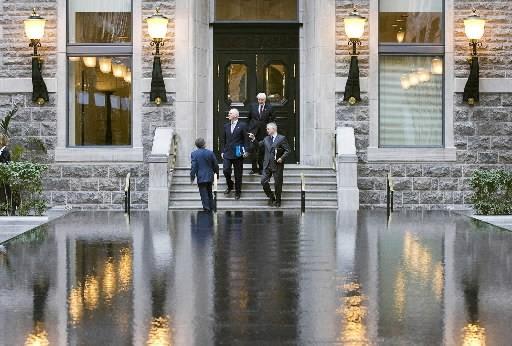 Les bureaux de Power Corporation à Montréal... (Photo: La Presse Canadienne)