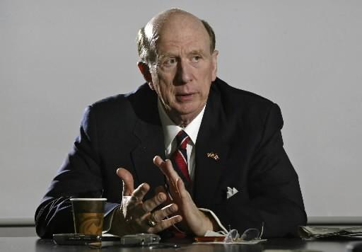 M. Wilkins avait été nommé ambassadeur des États-Unis... (Photo: La Presse Canadienne)