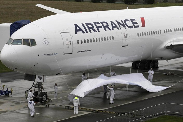 Le groupe franco-néerlandais Air France-KLM va de nouveau... (Photo: Reuters)