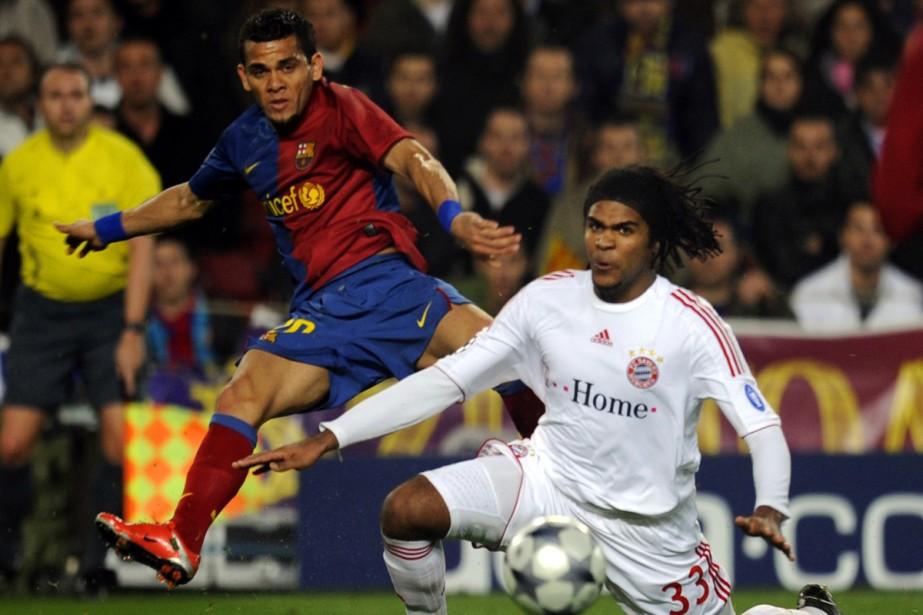 Dani Alves... (Photo: AFP)