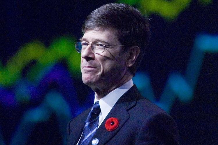 L'économiste Jeffrey Sachs... (Photo: Ivanoh Demers, La Presse)