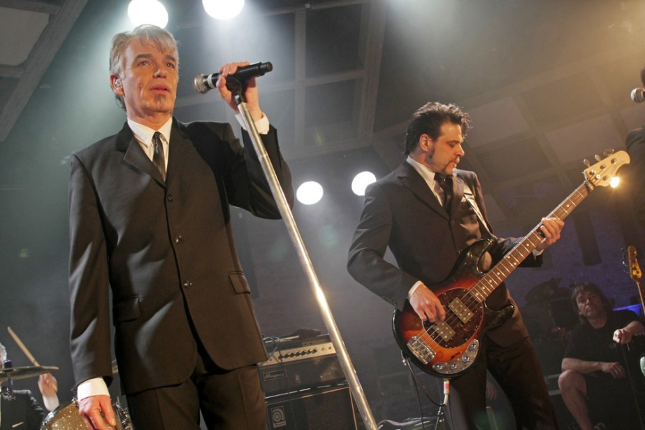 Billy Bob Thornton et son groupe The Boxmasters.... (Photo: AP)
