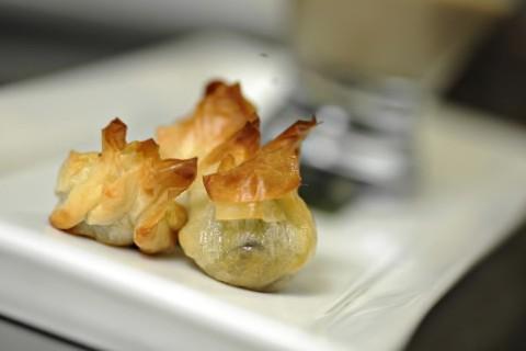 Bonbons de petits gris en filo... (Photo: Bernard Brault, La Presse)