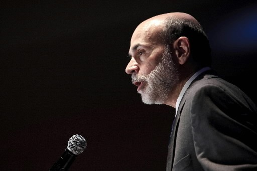 M. Bernanke a invité à «se méfier de... (Photo: Bloomberg)