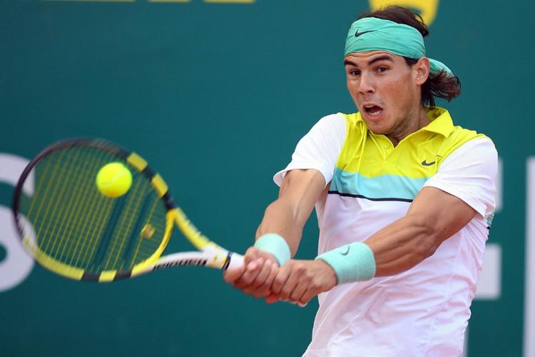 Rafael Nadal a remporté sa 19e victoire d'affilée... (Photo: AFP)