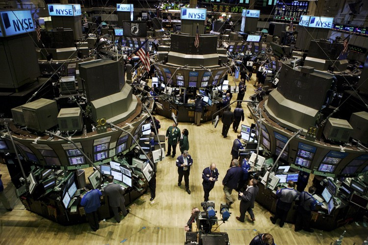 Les marchés boursiers nord-américains ont clôturé à la... (Photo: Bloomberg)