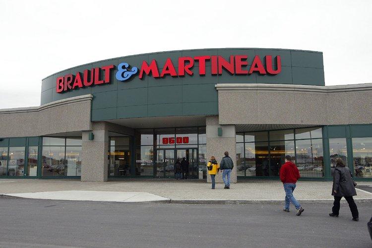 Le Groupe BMTC, exploite les magasins Brault &... (Photo: André Pichette, La Presse)