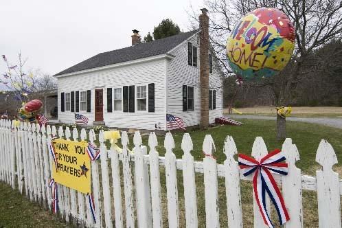 La maison du capitaine Richard Phillips.... (Robert Skinner La Presse)