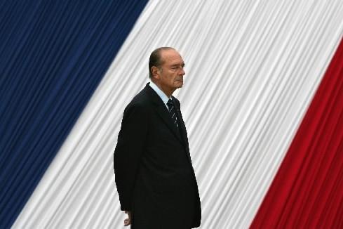 La nouvelle est parvenue mardi soir à Jacques Chirac, à la... (Photo: AFP)