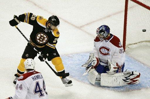 Heureux d'avoir remporté le premier match, mais... (Photo: The Boston Globe)
