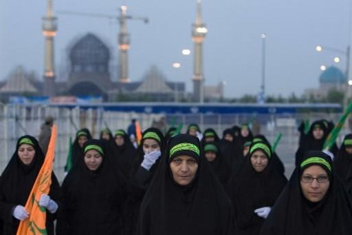 L'Iran a adopté samedi un profil bas pour la fête annuelle de... (Photo: Reuters)
