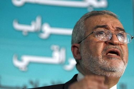 Le parlementaire sunnite Ayad al-Samarraie.... (Photo: AP)