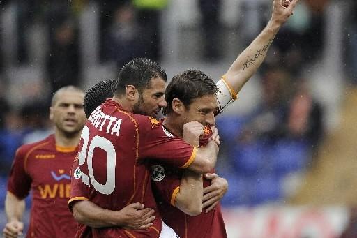 L'AS Roma a renoué avec le succès contre... (Photo: AFP)