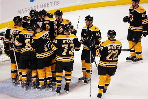 «Il ne faut pas s'arrêter à 2-0, a... (Photo: Boston Globe)